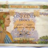 82. FRANTA 500 FRANCS FRANCI 12.02.1942 SR. 590, Europa