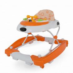 Premergator cu balansoar DhsBaby Swing portocaliu