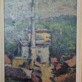 L. Grigorescu * Ulei pe carton * Dimensiuni 30 x 40 cm - Pictor roman, Peisaje, Altul