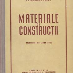 N.A. Gherlivanov (coord.) - Materiale de constructii - 579292 - Carti Constructii