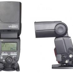 Yongnuo YN660 Blitz wireless cu master controller radio incorporat - Blitz slave