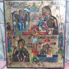 Icoana rusă ( lipoveneasca ) - pictura pe lemn - Icoana pe lemn