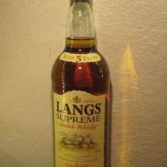 whisky lang's supreme, 5 years, l.1  gr. 40 ani 80