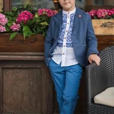 Sacou Iridor baieti Greece (Culoare: albastru, Imbracaminte pentru varsta: 7 ani - 122 cm)
