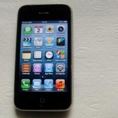 iPhone 3Gs Apple 8GB, Negru, Neblocat