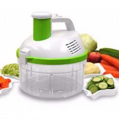 Salad King 4 in 1 LENTZ, feliator, razatoare, curatator, spinner electric - Mixere