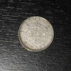Monede Romania, An: 1942, Argint - Moneda argint 200 lei Romania 1942, regele Mihai I, necuratata