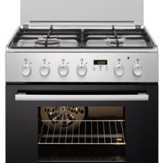 Aragaz mixt Electrolux EKK64502OX, plita gaz, cuptor electric, Inox