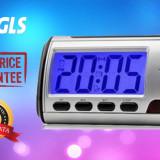 Ceas de masa Spion Video cu Camera Ascunsa / Spy / Telecomanda / Senzor miscare