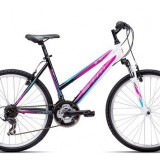 "Bicicleta dama CTM Stefi 2.0, 2016, cadru 18"", negru / mov PB Cod Produs: 037.53"
