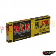Lant transmisie DID 420D/130 (deschis/cheita cu siguranta) PP Cod Produs: 7487853MA - Lant transmisie Moto