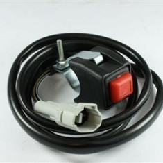 MXE Buton oprire 4 T, cu cablu, gata de montaj, RMZ Cod Produs: KILLBRMZAU - Intrerupator Moto