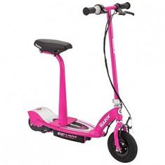 Trotineta electrica cu scaun Wow Razor E100S roz - Trotineta copii