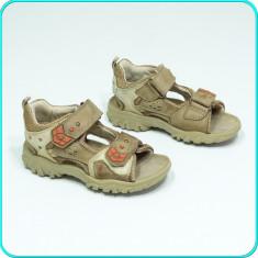 DE CALITATE _ Sandale din piele, comode, aerisite, ELEFANTEN _ baieti   nr. 27 - Sandale copii, Piele naturala