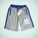 PANTALONI SCURTI ADIDAS. Bermude Adidas. Model Nou Bumbac. Pret Redus - Bermude barbati, Marime: M, L, XL, XXL, XXXL, Culoare: Gri