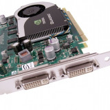 Placa video PCI-E NVIDIA Quadro FX370, 256MB, 64bit, 2xDVI, High Profile