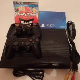 Consola Sony Playstation3 Ultraslim 12Gb impecabil + joc PS3 Angry Birds Blu Ray