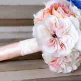 Buchet mireasa flori de hartie