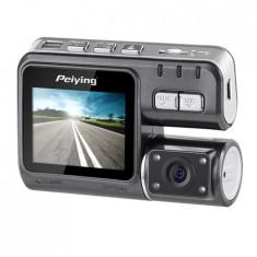 DVR AUTO HD (1280X720) DOUA CAMERE PEIYING PY0015 - DVD Player auto