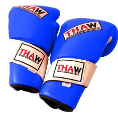 Manusi box ThaW 12 oz. Piele - Velcro*Piele*Rosu*12 oz - Accesorii box