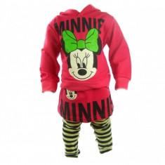 Set bluza si colanti Minnie Mouse Bucuria Copiilor 12 luni, Roz