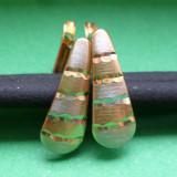 CERCEI AUR 14K, Culoare aur: Galben