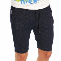 Pantaloni de trening scurti tip ZARA bleumarin - pantaloni barbati 6614 - Bermude barbati, Marime: S, L, XL, XXL, Culoare: Din imagine
