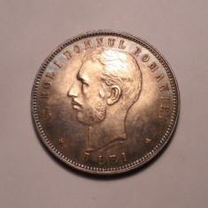 Monede Romania - 5 lei 1906 UNC Piesa de Colectie