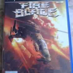 Vand joc cu elicoptere, pt ps2, playstation 2, FIRE BLADE - Jocuri PS2 Electronic Arts, Simulatoare, 12+, Single player