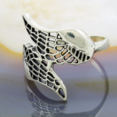 Inel din Argint 925, model Aripi de Inger, cod 883 - Inel argint