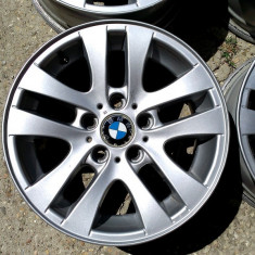 JANTE ORIGINALE BMW 16 5X120 E90 - Janta aliaj, Latime janta: 7, Numar prezoane: 5