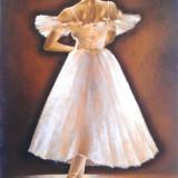 Tablou picturå - balerinå 1 - Pictor roman, Scene gen, Ulei, Miniatural
