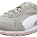 Adidasi barbati Puma, Piele intoarsa - Adidasi Puma St Runner Nl, Unisex Adults' Running Shoes marimea 42 si 43