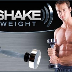 Bicicleta fitness - Shake Weight gantera pentru barbati