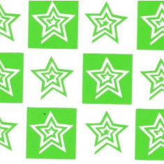 Unghii modele - Set 12 sabloane vinyl ''Star Cyclone''