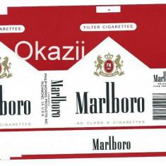 Ambalaj pachet necartonat tigari Marlboro - Pachet tigari
