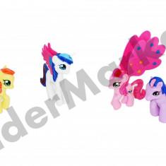 Set 4 figurine My Little Pony - Figurina Animale