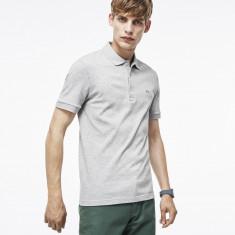 Tricou barbati - Tricou Lacoste Polo Slim Fit Gri barbatesc - 100% Original - Marime XS, S, L