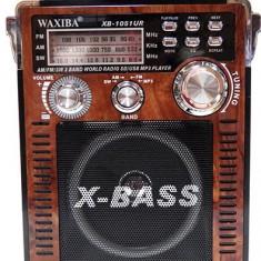Radio cu MP3 intrare USB si card WAXIBA XB-1051UR - MP3 player