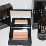 Trusa make up - Set BOBBI BROWN format din Fond de Ten + Pudra Compacta 5 nuante Shimmer Brick