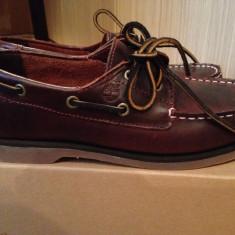 Pantofi baieti mocasini TIMBERLAND originali marimea 35 piele naturala - Mocasini Copii Timberland, Culoare: Maro