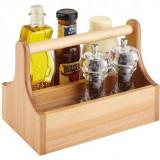 Cutie pentru condimente, din lemn