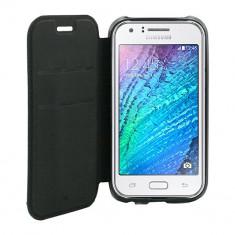 Husa Telefon Atlas, Negru, Piele Ecologica, Toc - Toc Book Samsung Galaxy S3 I9300 Negru