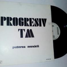Disc vinil / vinyl PROGRESIV TM Puterea Muzicii - Electrecord - Muzica Rock