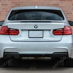 Difuzor prelungire spoiler bara spate M Pachet BMW F30 - Difuzor bara spate auto