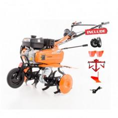 Motocultor - Motosapa Profesioanala Ruris 701KS + Plug Reversibil+Roti De Cauciuc si Metalice