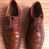 Pantofi Grafton originali, piele naturala, nr.43-28 cm. - Pantofi barbati, Culoare: Maro