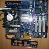 Vand Kit Intel P4 2.6Ghz socket 478+PB AsrocK+768Mb DDr1 - Placa de Baza Asrock, Pentru INTEL, Socket: 478, DDR, Contine procesor, ATX