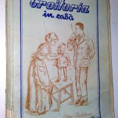 CROITORIA IN CASA - Elena Radulescu Medias 1957 ( deteriorata )