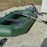 Barca Pescuit - Barcă pneumatică KOLIBRI 280 cu motor Yamaha 2, 5 CP